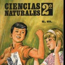 Libri di seconda mano: CIENCIAS NATURALES S.M. SEGUNDO CURSO DE BACHILLERATO (1968) COMO NUEVO. Lote 256019025