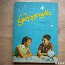 Libros de segunda mano: GEOGRAFÍA POR ZUBÍA EDICIONES S.M PARANINFO. Lote 256043875