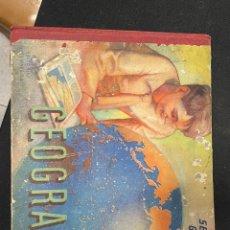 Libros de segunda mano: GEOGRAFÍA SEGUNDO GRADO EDITORIAL LUIS VIVES 1954. Lote 256110575