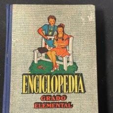 Libros de segunda mano: ENCICLOPEDIA CICLICO-PEDAGOGICA GRADO ELEMENTAL DE LOS CURSOS GRADUADOS DE PRIMERA ENSEÑANZA. Lote 256115310
