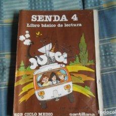 Libros de segunda mano: LIBRO LECTURA SENDA 4-E.G.B.SANTILLANA. Lote 257665610