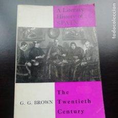 Libros de segunda mano: A LITERARY HISTORY OF SPAIN. Lote 258066030