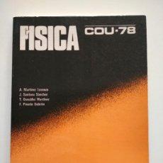 Libros de segunda mano: FISICA COU-78 EDITORIAL BRUÑO. Lote 260395730