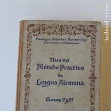 Libros de segunda mano: NUEVO METODO PRACTICO DE LENGUA ALEMANA, CURSOS 1º Y 2º, 1942 BILBAO. Lote 261298300
