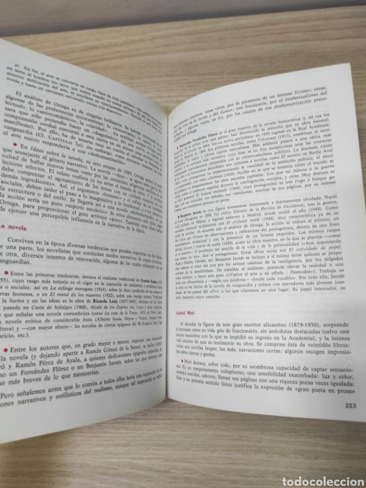 Libros de segunda mano: Libro literatura española. Vicente Tyson, Fernando Lázaro. Anaya - Foto 3 - 261934530