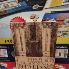 Libros de segunda mano: BEGINNING ITALIAN GRAMMAR.....VINCENZO CIOFFARI...1966.... Lote 261967100
