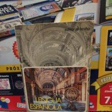 Libros de segunda mano: LENGUA ESPAÑOLA...CURSO 1° DE BACHILLERATO....1975/76..... Lote 261968195