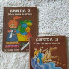 Libros de segunda mano: LOTE SENDA 3 Y 5 SANTILLANA PANDORA CLAVILEÑO. Lote 262048645