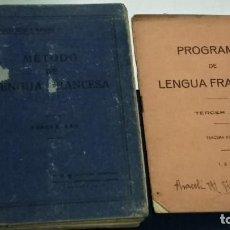 Libros de segunda mano: LIBRO METODO DE LENGUA FRANCESA - TARSICIO SECO Y MARCOS - 1935 HIJOS DE SANTIAGO RODRIGUEZ. Lote 262327195