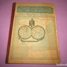 Libros de segunda mano: ANTIGUO ATLAS GEOGRÁFICO Y UNIVERSAL DE ESPAÑA HISPANIA - GRANADA AÑO 1959. Lote 262408005