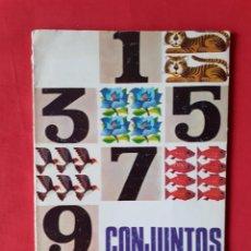 Libros de segunda mano: CONJUNTOS Y NUMEROS MATEMATICAS 4, EDIT MAGISTERIO ESPAÑOL 1966 VVAA P CASTAÑON DIAZ, CARLOS RODRIGU. Lote 262436750