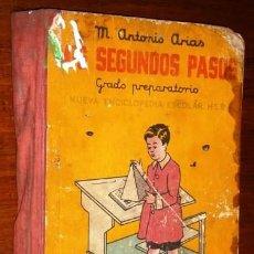 Libros de segunda mano: MIS SEGUNDOS PASOS POR MANUEL ANTONIO ARIAS DE HIJOS DE SANTIAGO RODRÍGUEZ EN BURGOS 1960 18ª ED.. Lote 262453980