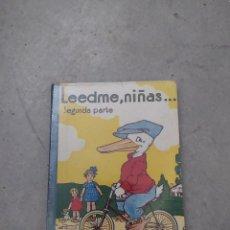 Livros em segunda mão: LEEDME NIÑAS 2ª PARTE - ED. HIJO DE RICARDO GLEZ 1955 - FEDERICO TORRES. Lote 263103260