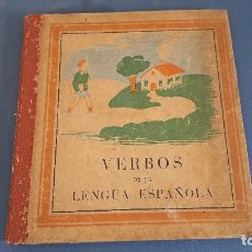 Libros de segunda mano: LIBRO DE TEXTO EDITORIAL DURAN, INCA, MALLORCA - VERBOS DE LA LENGUA ESPAÑOLA, 3ª EDICION. Lote 267588374