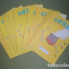 Libros de segunda mano: 10 CARTILLAS ESCOLARES: CIFRAS. PRÁCTICAS DE CÁLCULO ESCOLAR. RESTAR Nº2. (J.Mª TORAL). Lote 268745564