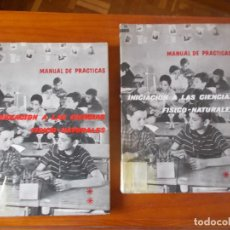 Libros de segunda mano: INICIACION A LAS CIENCIAS FISICO - NATURALES FASCÍCULOS 1 Y 2 ). Lote 268751904