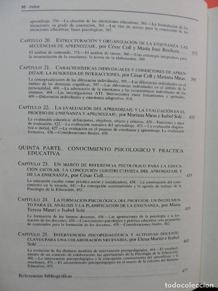 Libros de segunda mano: Desarrollo psicológico y educación II. Psicología de la Educación. César Coll, Palacios, Marchesi - Foto 5 - 269027674