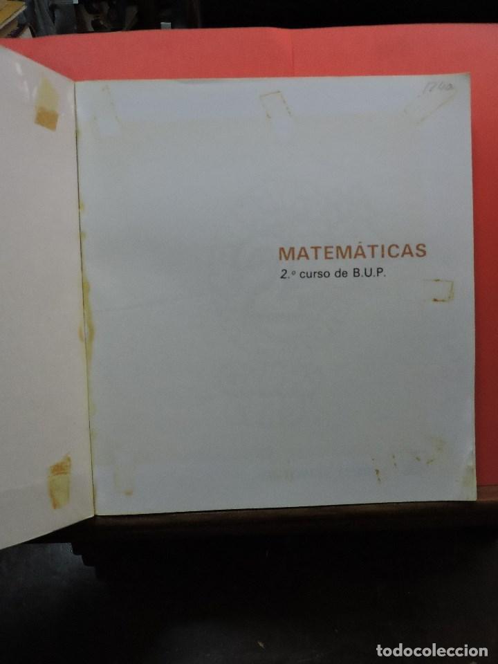 Libros de segunda mano: Matemáticas de Bachillerato volumen 2. Grupo Cero. 3ª Ed. Editorial Teide 1985 - Foto 2 - 269028259