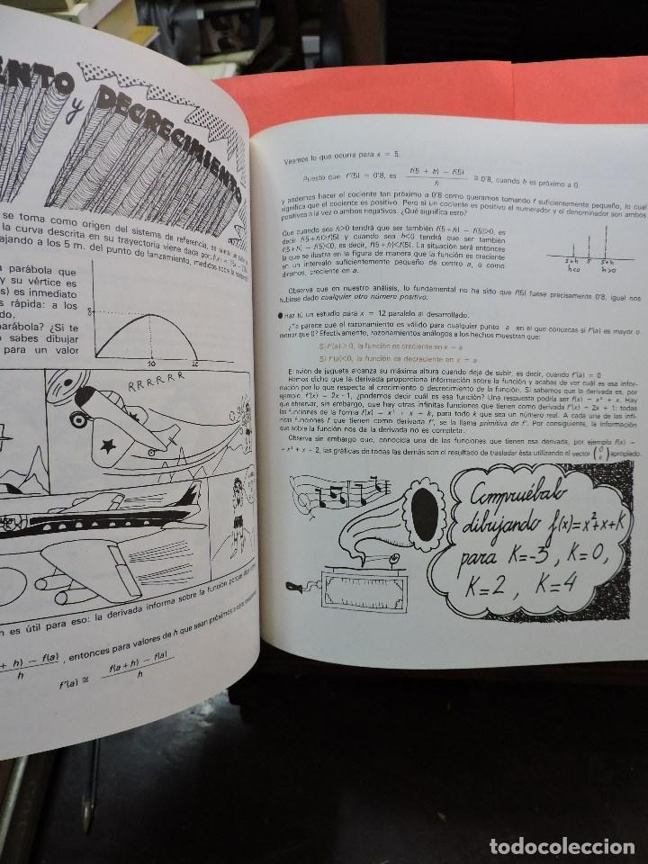 Libros de segunda mano: Matemáticas de Bachillerato volumen 2. Grupo Cero. 3ª Ed. Editorial Teide 1985 - Foto 4 - 269028259