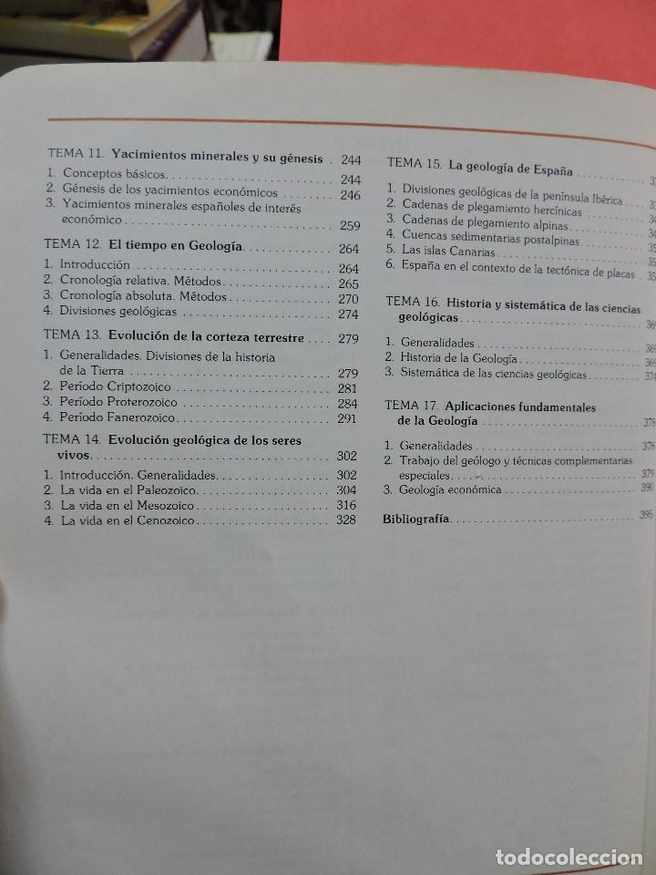 Libros de segunda mano: Geología. MULAS SÁNCHEZ, J. y MORILLO-VELARDE, María J. COU Santillana 1984 - Foto 5 - 269028689