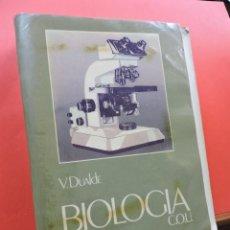 Libros de segunda mano: BIOLOGÍA COU. DUALDE PÉREZ, VICENTE Y DUALDE VIÑETA, ANA. EDITORIAL ECIR 1987. Lote 269029084