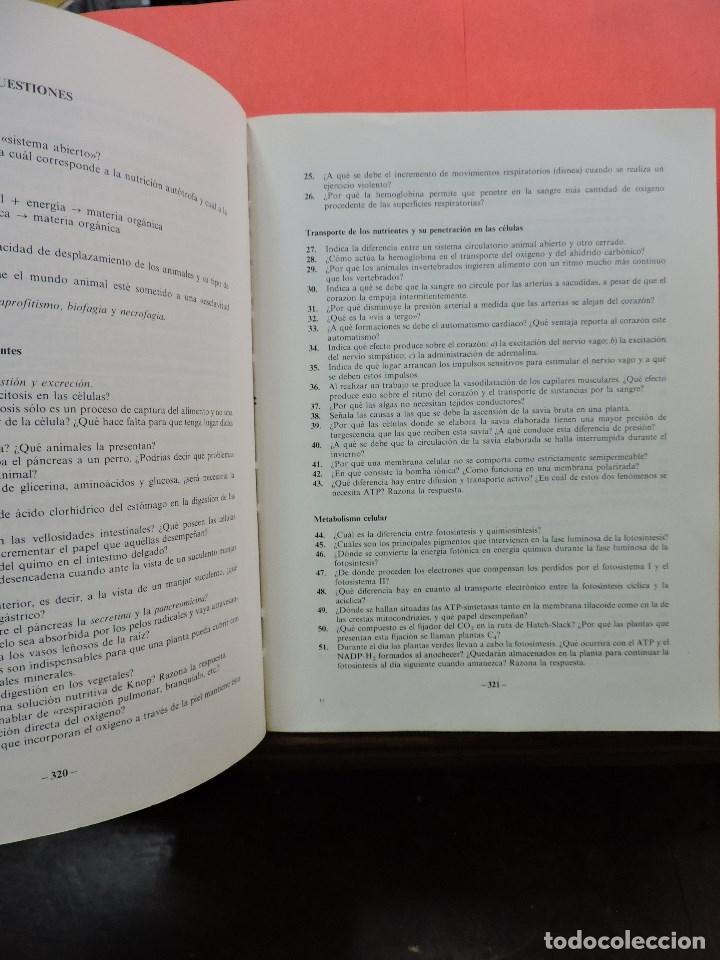 Libros de segunda mano: Biología COU. DUALDE PÉREZ, Vicente y DUALDE VIÑETA, Ana. Editorial ECIR 1987 - Foto 4 - 269029084