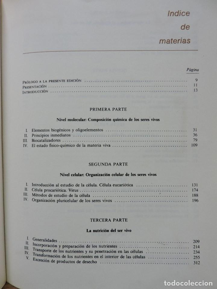 Libros de segunda mano: Biología COU. DUALDE PÉREZ, Vicente y DUALDE VIÑETA, Ana. Editorial ECIR 1987 - Foto 5 - 269029084