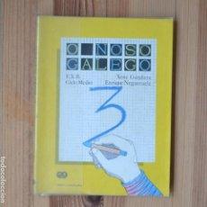 Libros de segunda mano: O NOSO GALEGO 3 E.X.B. CICLO MEDIO XOSÉ GÁNDARA ENRIQUE NEGUERUELA 1984 EDICIÓNS XERAIS DE GALICIA. Lote 269031743