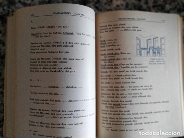 Libros de segunda mano: Método de Euskera Radiofónico (1er curso) / Euskera Irrati Bidez (1go ikastaroa). San Sebastián:1969 - Foto 2 - 269035604