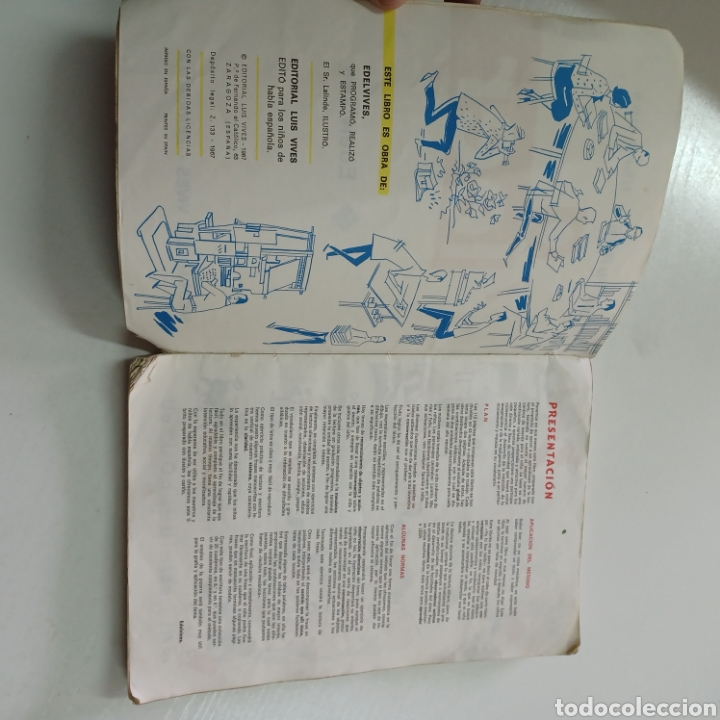 Libros de segunda mano: A LEER - LECTURAS LIBRO UNO 1967 EDELVIVES - Foto 3 - 270550028