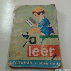 Libros de segunda mano: A LEER - LECTURAS LIBRO UNO 1967 EDELVIVES. Lote 270550028