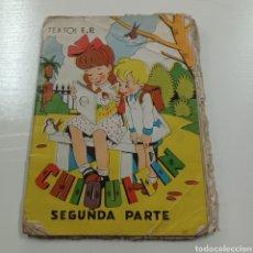 Libros de segunda mano: CHIQUITIN SILABARIO SEGUNDA PARTE. Lote 270550528