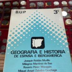 Libros de segunda mano: LIBRO DE 3 DE BUP. Lote 271392243