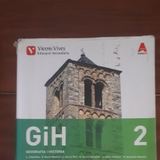 Livros em segunda mão: GEOGRAFIA I HISTÒRIA 2 ESO VICENS VIVES EN CATALÀ. Lote 272122483