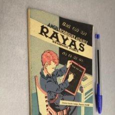 Livros em segunda mão: RAYAS SEGUNDA PARTE / ÁNGEL RODRÍGUEZ ÁLVAREZ / EDITORIAL SÁNCHEZ RODRIGO - PLASENCIA. Lote 273616458