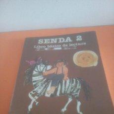 Livres d'occasion: SENDA 2 EGB CICLO INICIAL - SANTILLANA - LIBRO BÁSICO DE LECTURA. Lote 274845453