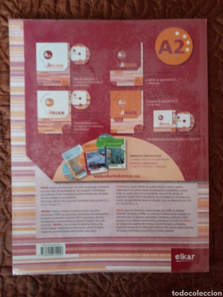 Libros de segunda mano: Arian A2.1 Lan-koadernoa (+erantzunak) - Foto 3 - 275024968