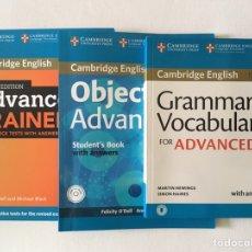 Livres d'occasion: CAMBRIDGE ENGLISH ADVANCED. Lote 275044033
