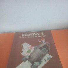 Livres d'occasion: SENDA 1 - LIBRO BÁSICO DE LECTURA - EGB CICLO INICIAL - SANTILLANA. Lote 275047863