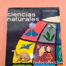 Libros de segunda mano: 1970 CIENCIAS NATURALES 5°CURSO, F. ESTEVE CHUECA, ED. MARFIL, 7° EDICION TAPA BLANDA. Lote 276239508