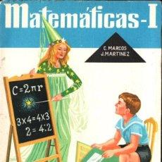 Libros de segunda mano: MATEMÁTICAS 1ER CURSO S.M. 1963. Lote 277171643