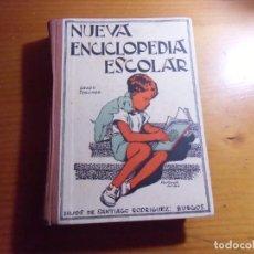 Livros em segunda mão: NUEVA ENCICLOPEDIA ESCOLAR/SANTIAGO RODRIGUEZ,1943/ILUSTRADA CON 400 DIBUJOS,585 PAGINAS.. Lote 277192643