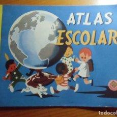 Livros em segunda mão: ATLAS ESCOLAR/EDELVIVES, 1962/ 23 PAGINAS.. Lote 277192993