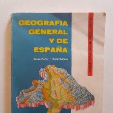 Libros de segunda mano: GEOGRAFIA GENERAL Y DE ESPAÑA. ASIAN PEÑA Y SANZ GARCIA. 1º DE BACHILLERATO - 1964. Lote 277201728