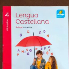 Libros de segunda mano: LENGUA CASTELLANA, PROYECTO SABER HACER, EDITORIAL SANTILLANA - TRES LIBROS. Lote 277276898
