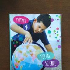Libros de segunda mano: SOCIAL SCIENCE, 4° PRIMARIA. EDITORIAL ANAYA ENGLISH. Lote 277277203