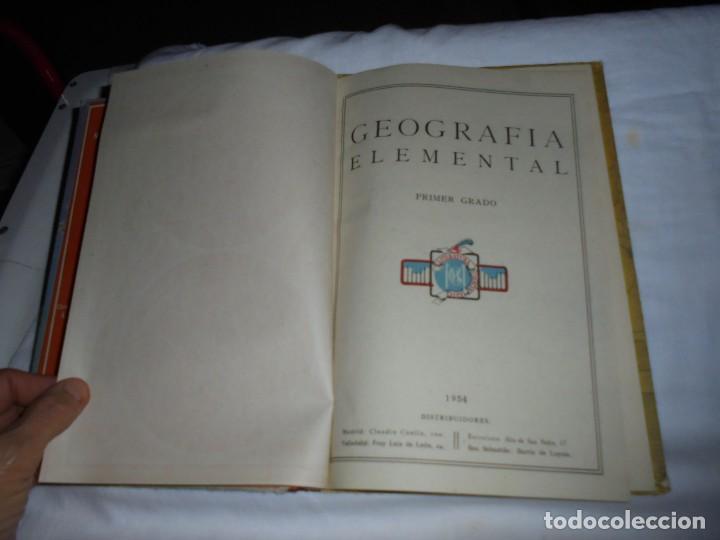 Libros de segunda mano: GEOGRAFIA ELEMENTAL PRIMER GRADO.EDICIONES BRUÑO 1954 - Foto 3 - 277839513