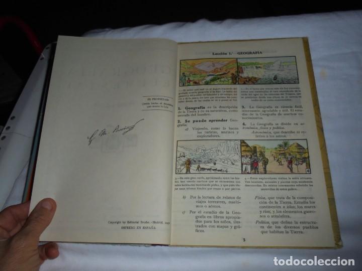 Libros de segunda mano: GEOGRAFIA ELEMENTAL PRIMER GRADO.EDICIONES BRUÑO 1954 - Foto 4 - 277839513