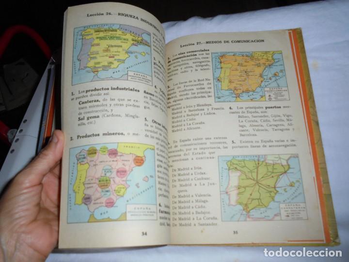 Libros de segunda mano: GEOGRAFIA ELEMENTAL PRIMER GRADO.EDICIONES BRUÑO 1954 - Foto 5 - 277839513