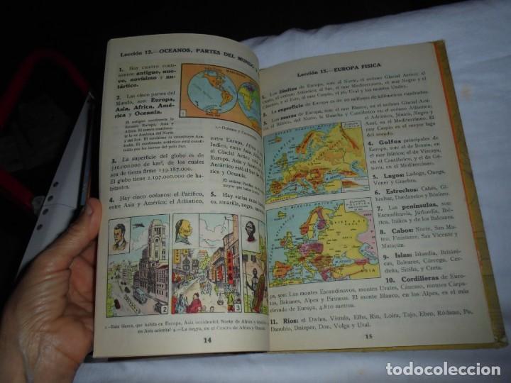 Libros de segunda mano: GEOGRAFIA ELEMENTAL PRIMER GRADO.EDICIONES BRUÑO 1954 - Foto 7 - 277839513